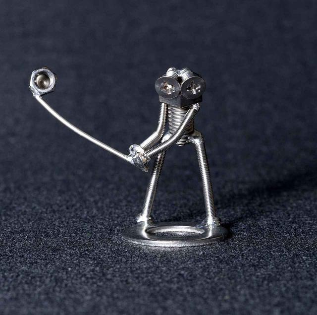 画像2: 【スウィングフィギュア】5体の連続写真仕立てです! 鉄の街、室蘭生まれの愛らしいボルタ君人形