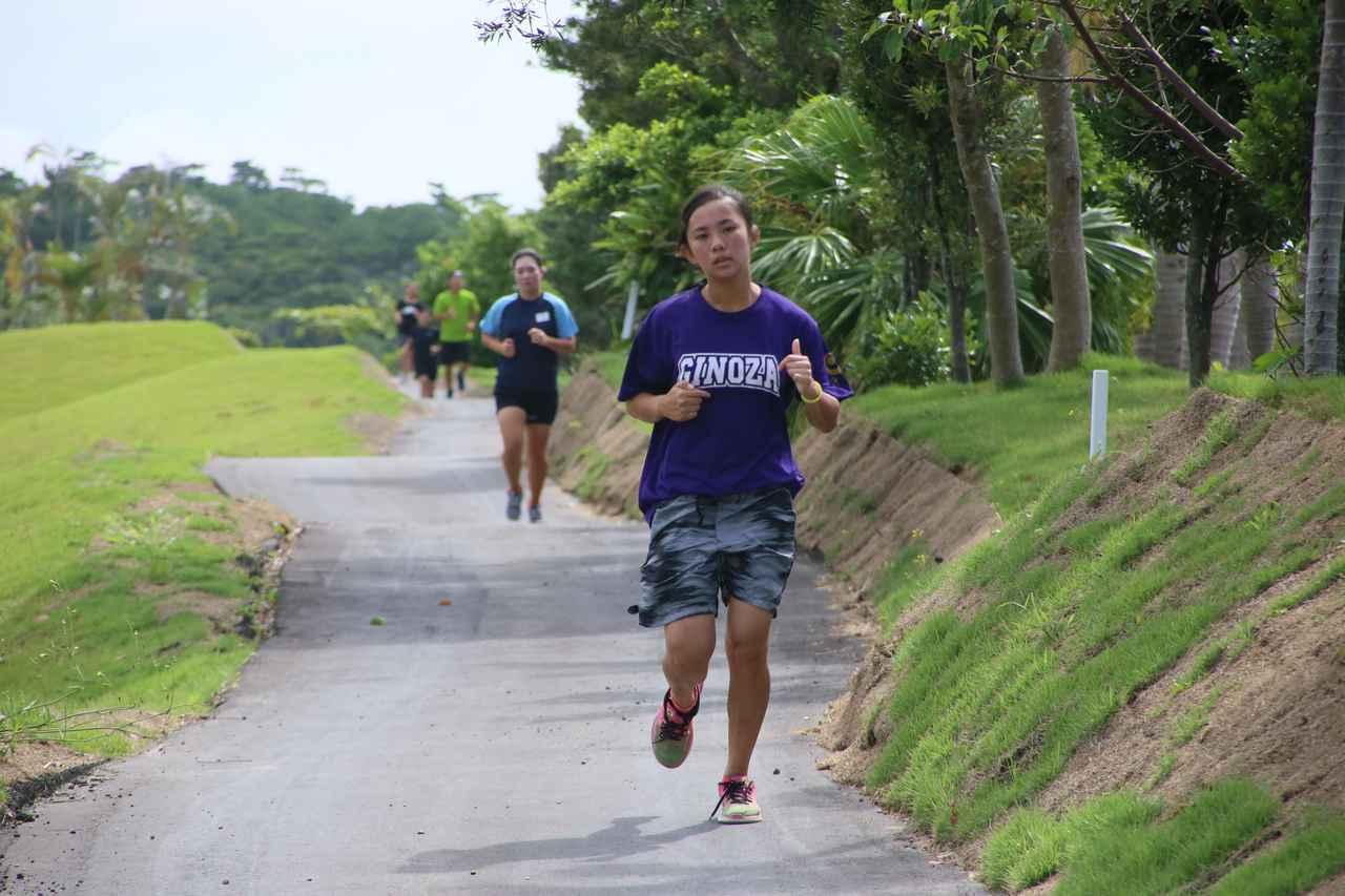 画像: 毎日練習前に3kmのランニング。資質があっても体が足りないせいで開花しないことも多い。だから基礎トレーニングを重視しているそう