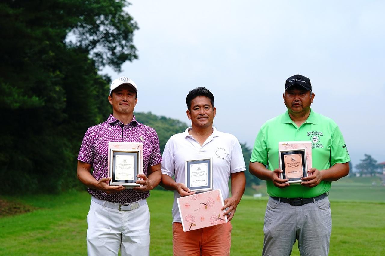 画像: 「SUPER SENIOR DIVISION / スーパーシニア」左より第1位 堀田晃宏 、第2位 小西 憲三郎、第3位 山田 勉