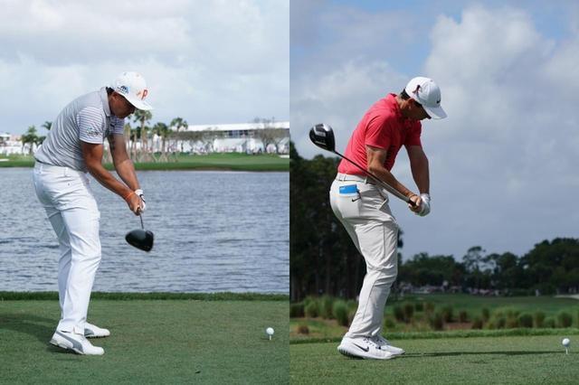 画像: (左)リッキー・ファウラー、(右)ローリー・マキロイ