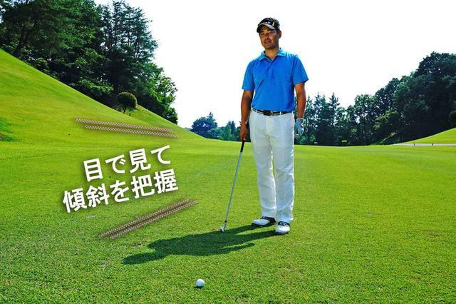 画像: ボールの後ろから全体像を把握する