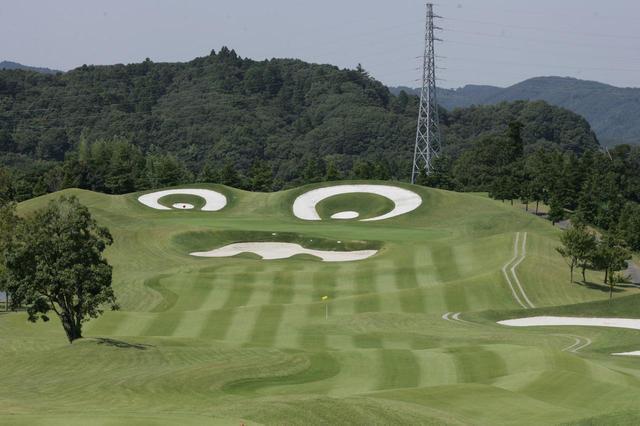 画像: 13ホールが池絡み、ゴルフ5カントリー オークビレッヂ