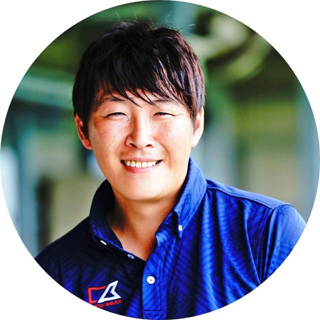 """画像: 二宮慎堂さん にのみやしんどう。愛媛県のトップアマ。家族全員が片手シングルであり、24時間ゴルフのことを考えている自他ともに認める""""ゴルフマニア""""。週刊GD「遊ぶつもりでやってみて!」連載中 ※二宮さんはボランティアとしてご協力いただきました"""