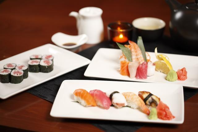 画像: スペシャルレストラン(有料)では、和食のチョイスも可能!