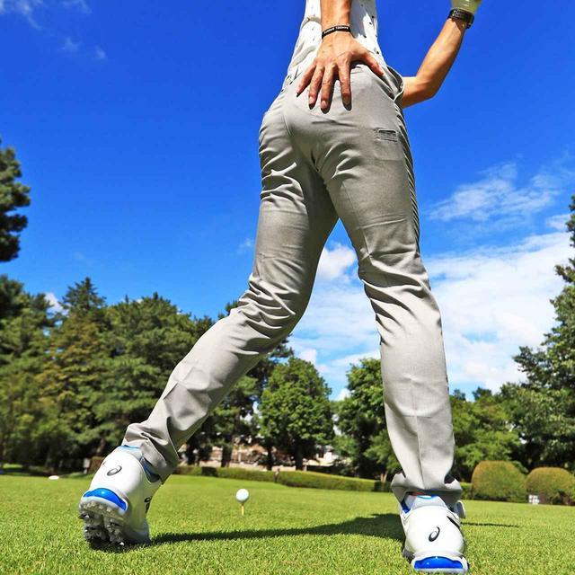 画像: [にらめっこ]② 右のお尻に体重を乗せるイメージ