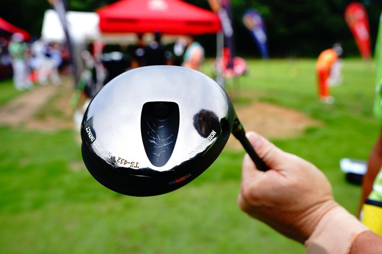 画像: ヘッドはトラディショナルスポーツのTS452