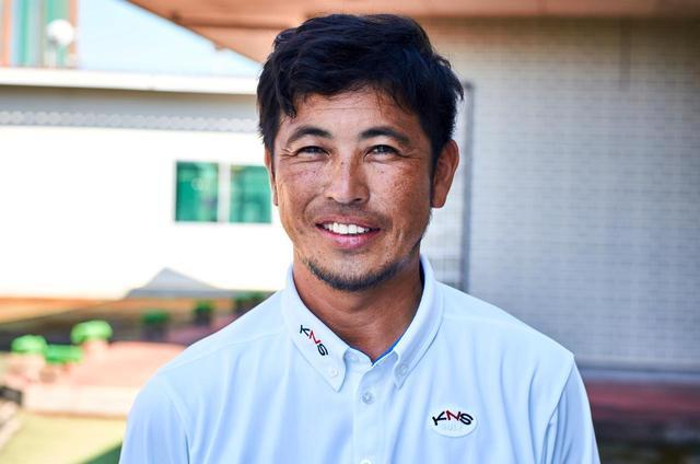 画像: 【計測】木名瀬和重さん 茨城県水戸に工房「KNSゴルフ」を構える。トップアマとしても活躍。ベストスコア67