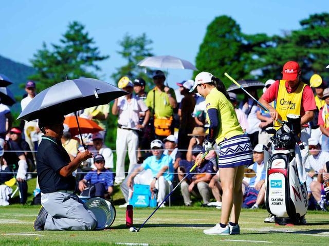 画像: 夏場のトーナメントは猛暑との闘い。万全の体調管理が求められる