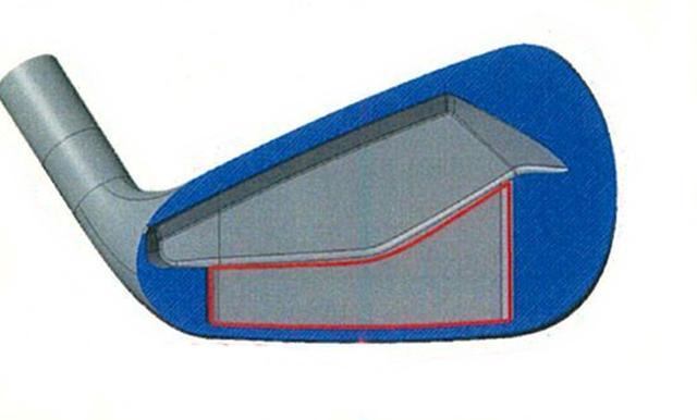 画像: ソール、フェースに薄肉部を拡大し、最適重量配分によりやさしさも向上