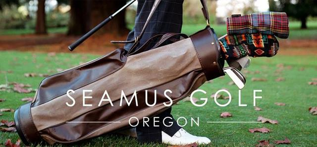 画像: SEAMUS GOLFはアメリカオレゴン州のブランド。ノスタルジックな雰囲気と現代的な感性が見事に融合したモノづくりにファンは多い