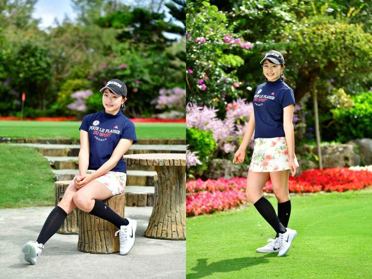 画像1: 【女子プロ百花/三浦桃香】飛距離を活かした攻めのゴルフと笑顔を見てください!