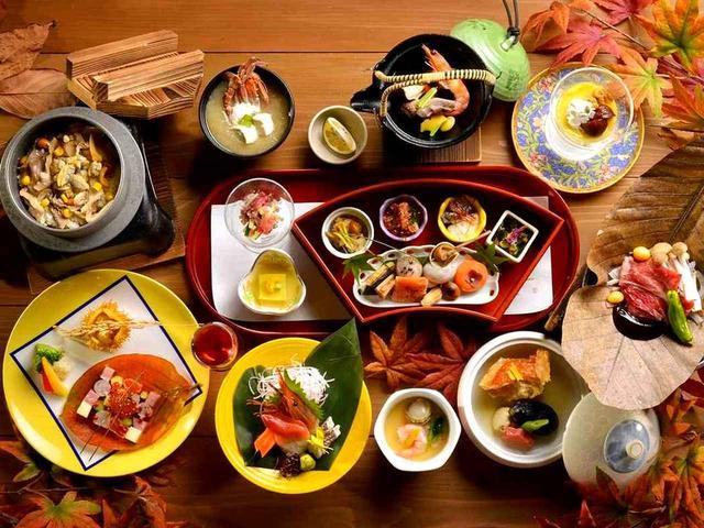 画像: 夕食 和食会席膳 北海道の味覚を革新的な手法で(イメージ)