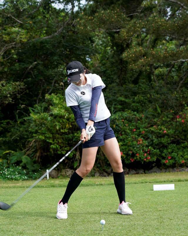 画像4: 【女子プロ百花/三浦桃香】飛距離を活かした攻めのゴルフと笑顔を見てください!