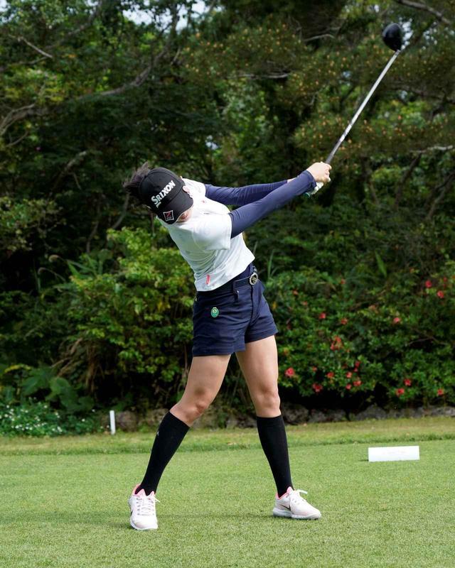 画像5: 【女子プロ百花/三浦桃香】飛距離を活かした攻めのゴルフと笑顔を見てください!