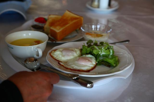 画像: 朝食メニューの洋定食 ¥540 (取材時)