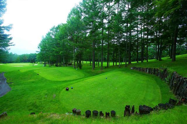 画像: リゾート施設内にある本格パブリック「丘の公園清里ゴルフコース」