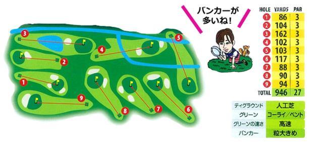 """画像: まさに""""ゴルフの公園""""。デビューにもってこいのコース"""