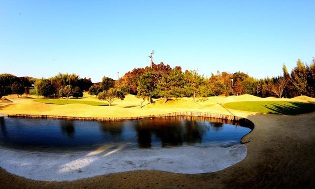 画像1: 【千葉県ショートコース/サンライズゴルフクラブ】木更津で見つけた芝と池と砂が絵になる9ホール!