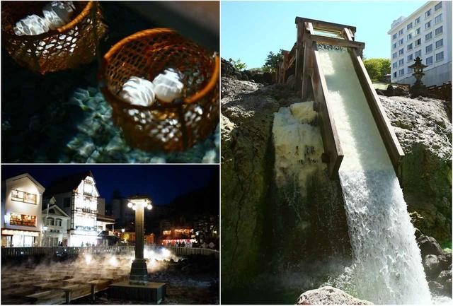 画像: 酸性泉だから草津で長湯は禁物です。10分たったら「さあ次だ」