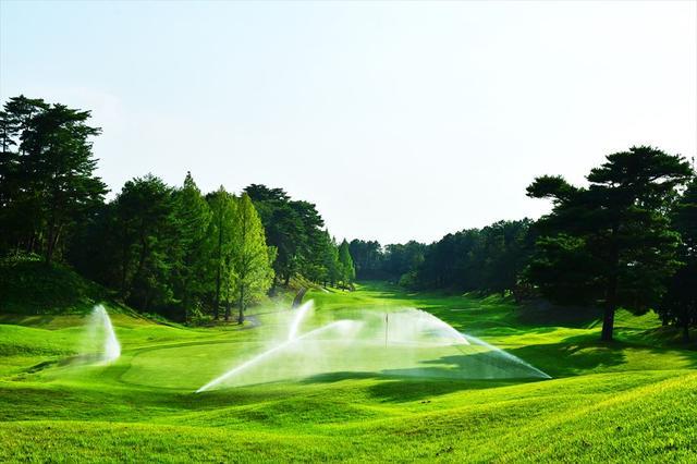 画像: ロイヤル9番 439Y P4。かつてのトーナメントでは18番としても使用された美しいホール(1987年日本オープン/優勝青木功。1990、1992~94、1997~98年サントリーレディスなど)