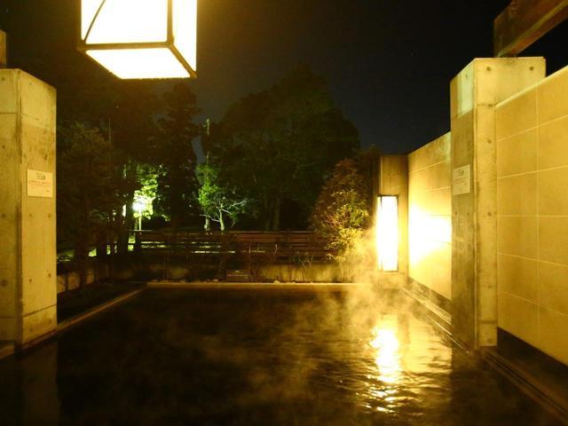 画像: 露天風呂