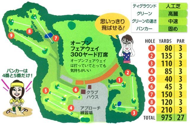 画像2: 7~9番は林間コース、距離もあるタフな3ホール