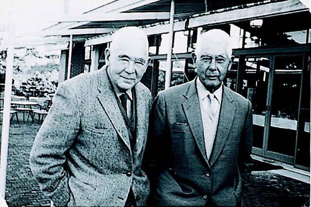 画像: クレーン兄弟。右が宝塚高原GC、垂水GCなどを手掛けた三男のJ・E・クレーン。左が鳴尾GCをデザインしたH・C・クレーン