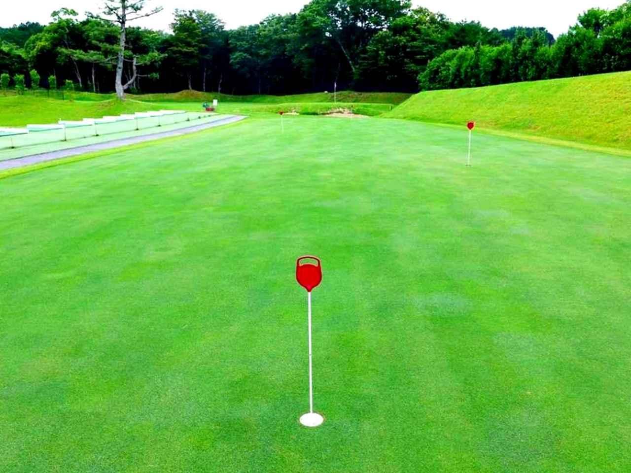 画像: グリーンの芝は本コースと同じ最新ベント