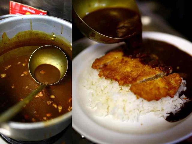 画像: スプーンで切れるカツと一緒にガツガツ食べるとより美味しい