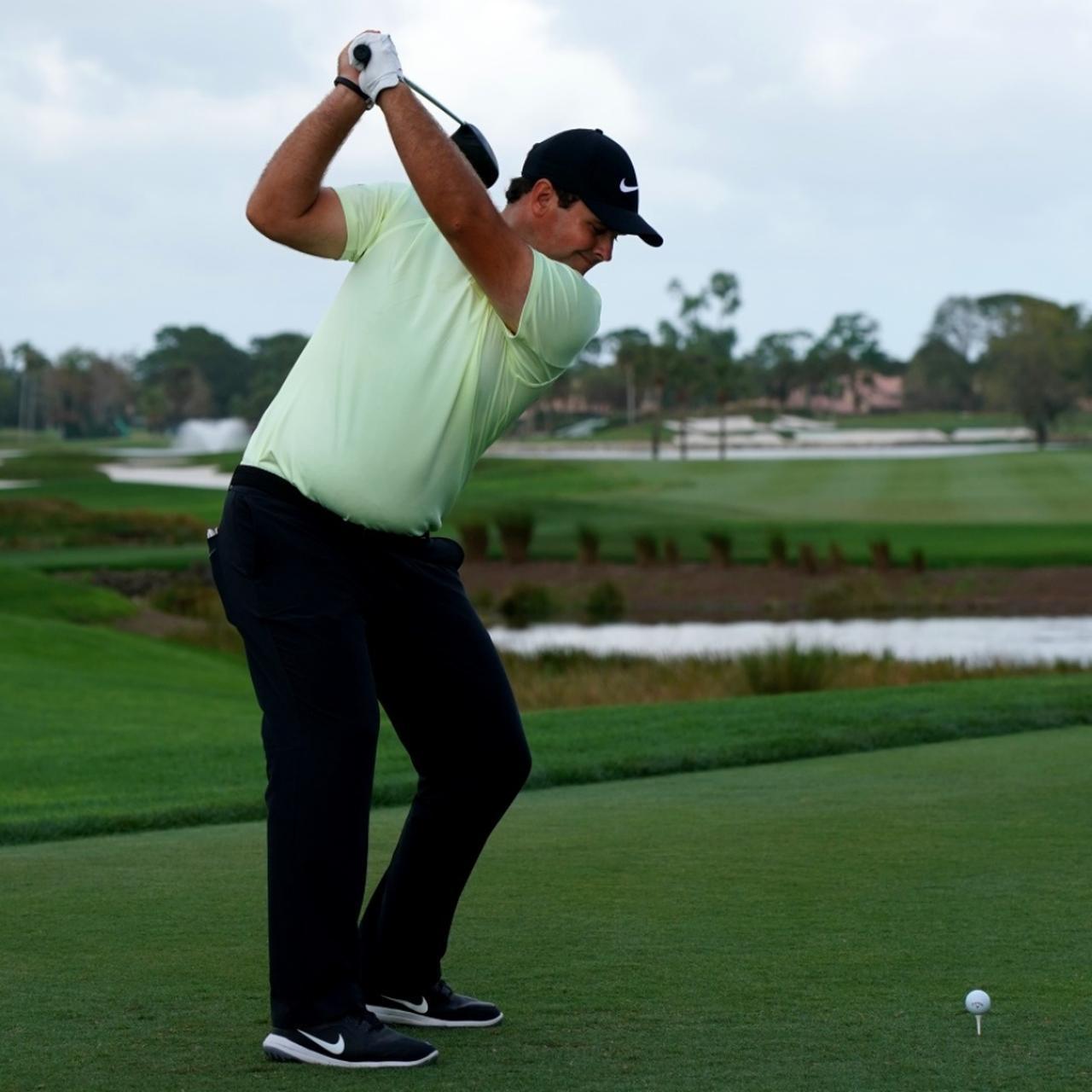 画像5: 【パトリック・リード】天才肌ドローヒッター! 右股関節の上に乗って腕をしっかりローテーション