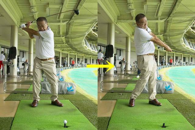 画像: 【ドリル】スプリットハンドで握ってボールを斬る