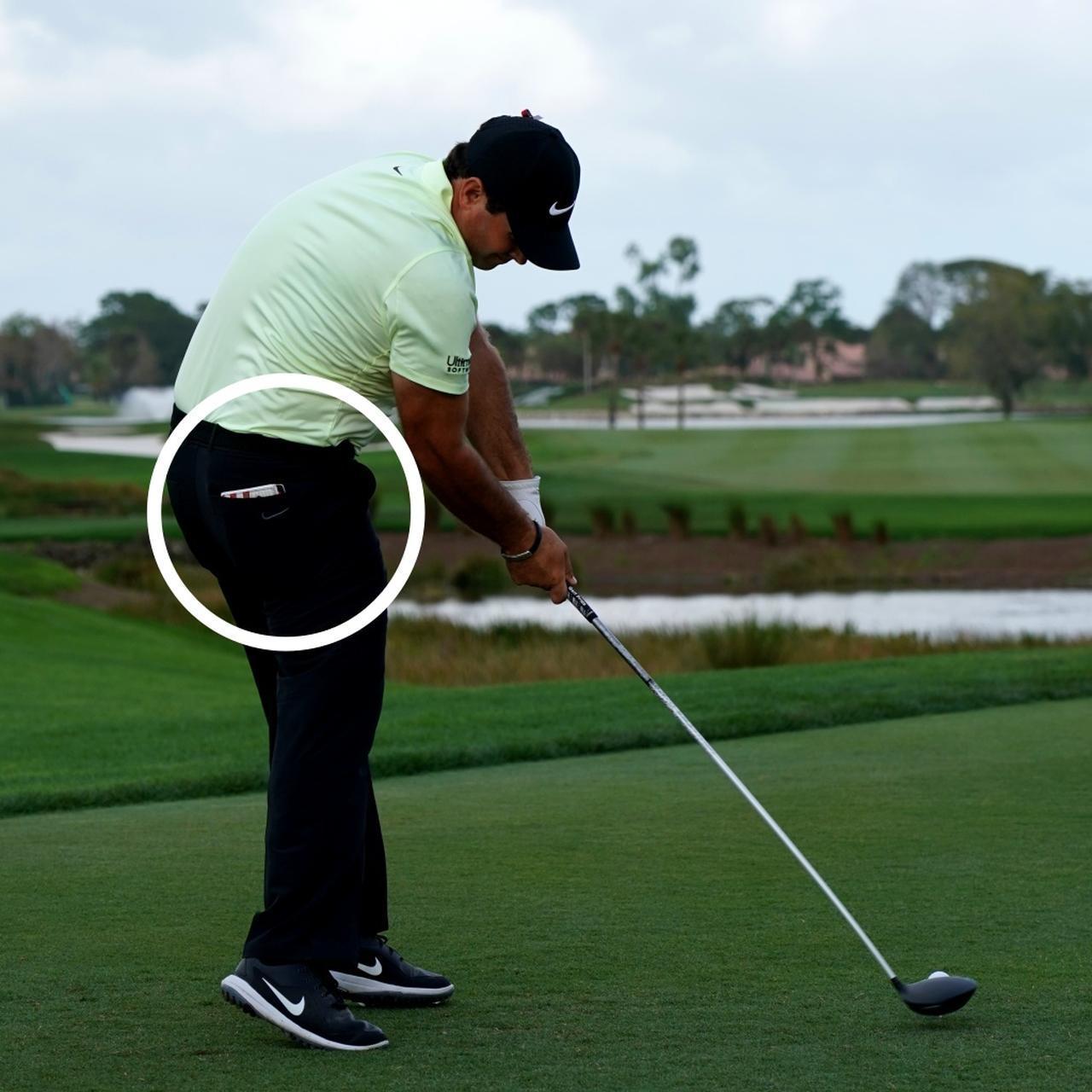 画像: 右股関節の乗って回る