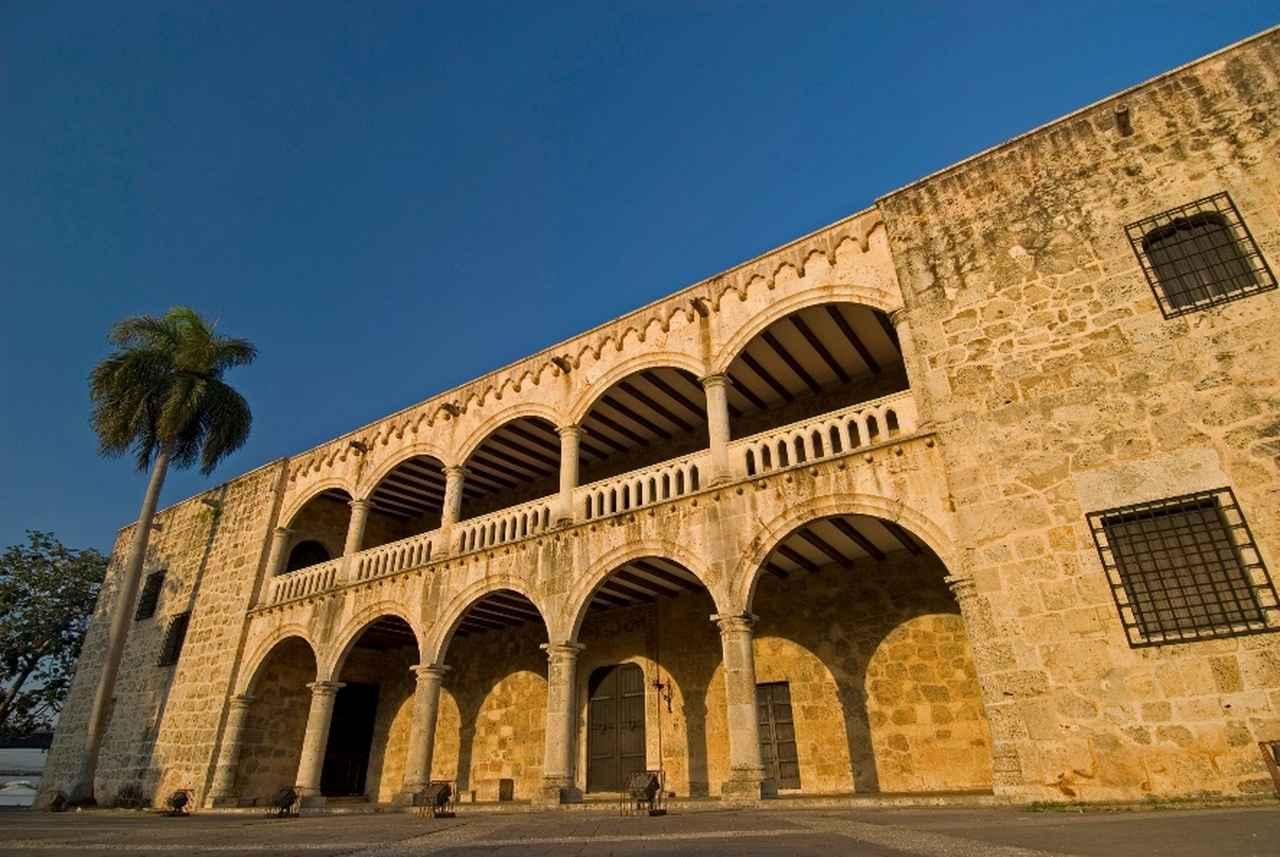 画像: オサマ砦。サント・ドミンゴを海賊から守るための防衛の拠点で、新大陸初の軍事建築物。要塞や刑務所として使われていました遺産