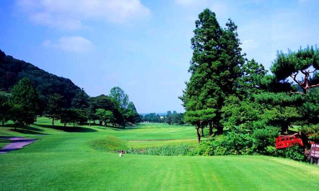 画像: 富澤誠造設計の27ホール。四季折々の景色が楽しめ、春には桜満開のコースになる