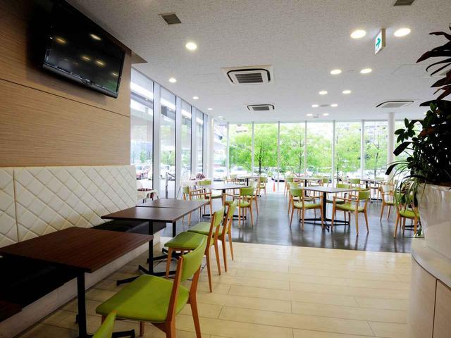 画像: レストラン「グリーンカフェ」