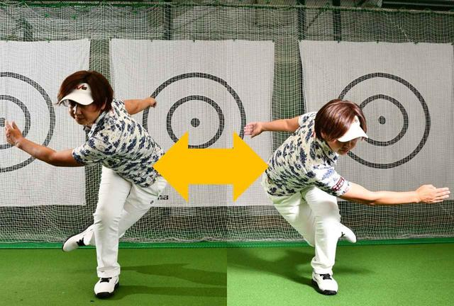 画像: 腕を振りながら左右に思い切り飛ぶ。体を大きく動かしながら、なるべく速く行うこと。瞬発力、下半身の筋力、腹筋、肩関節の柔軟性などが鍛えられる。10回以上