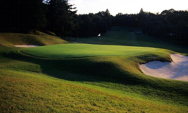 画像: 名古屋ゴルフ倶楽部和合コース 7番