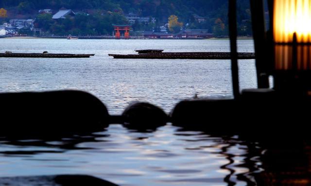 画像: 露天風呂からの眺め