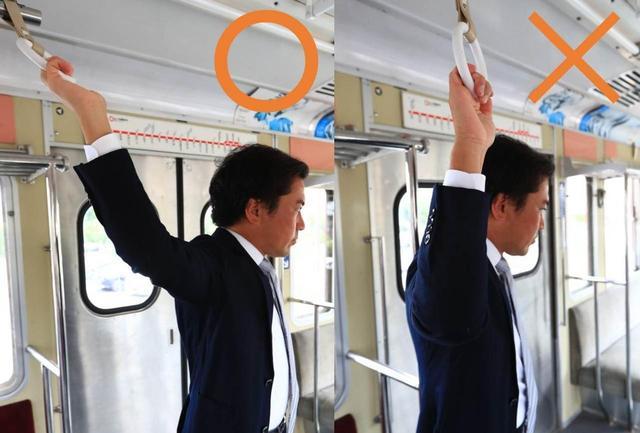 画像: 左)フェード持ち 右)スライス持ち