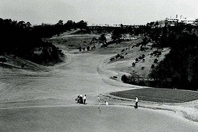 画像: 昭和43年頃のコース