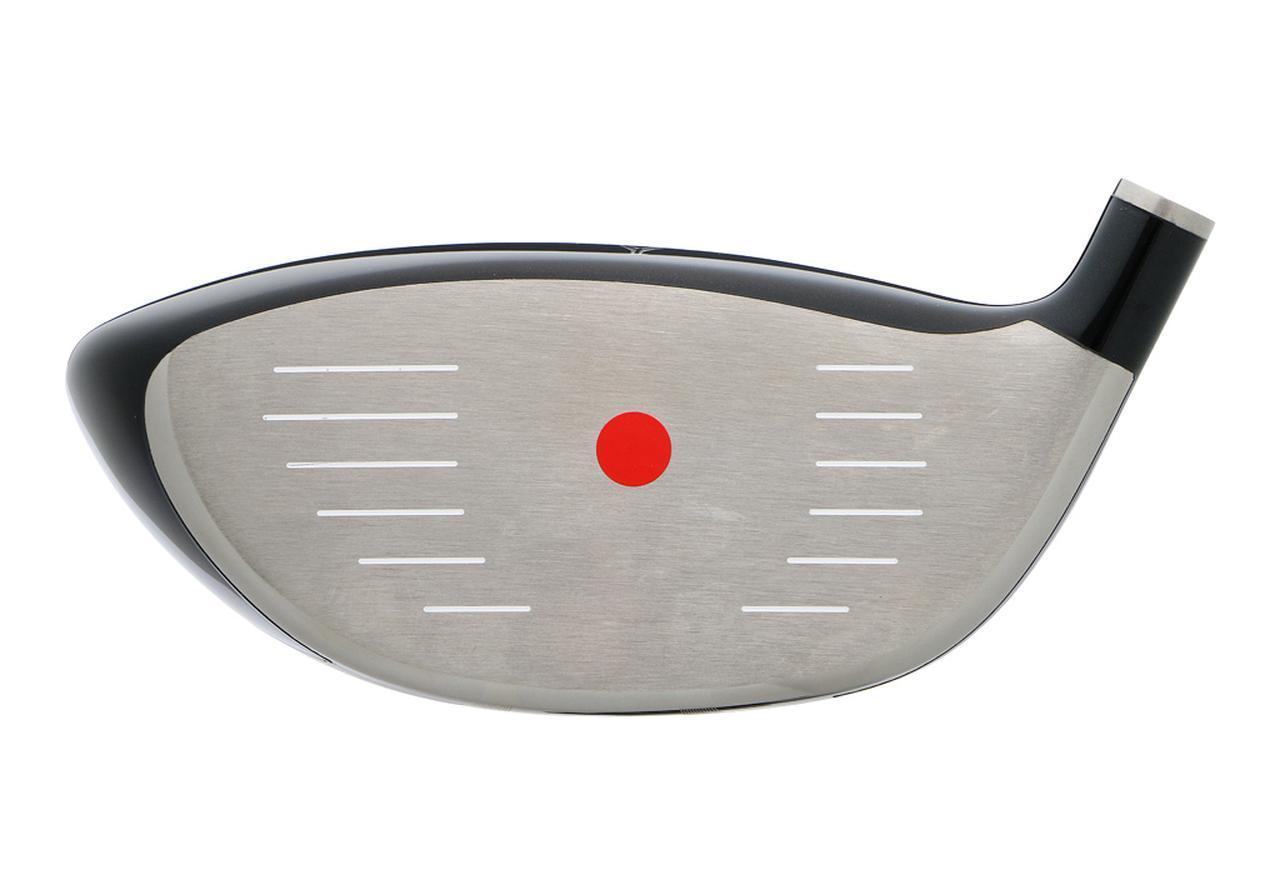 画像: 低・深重心のヘッド。フェース面上のSS高さも32.7ミリと低め。打点ブレのミスに強い設計
