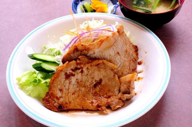 画像: 名物生姜焼き定食