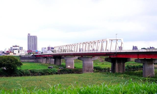 画像: 三国橋。3県境だからか!?