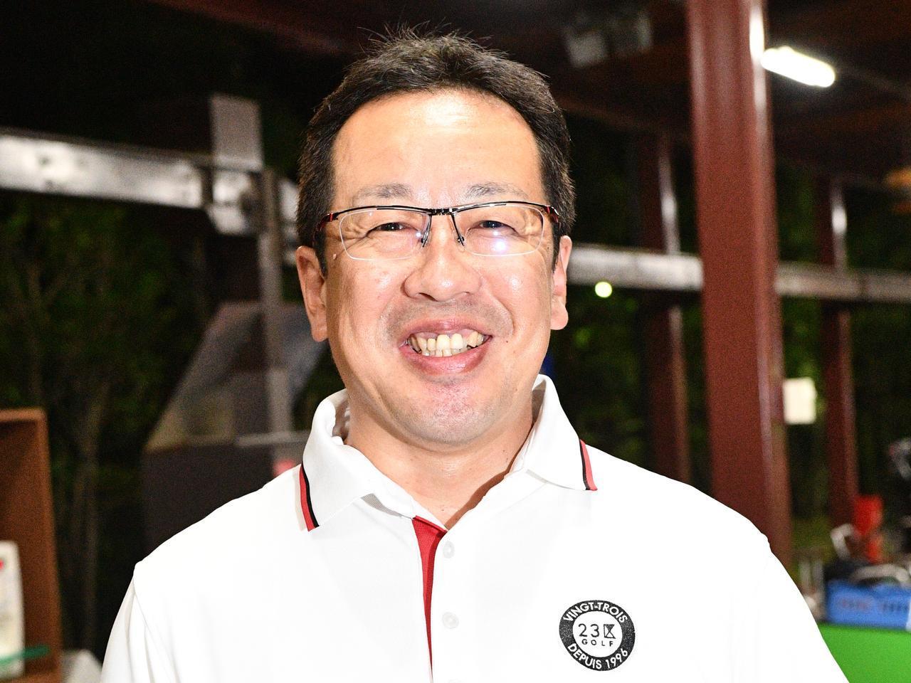 画像: 【教わる人】傍嶋雄治さん 50歳/ゴルフ歴10年/平均スコア110