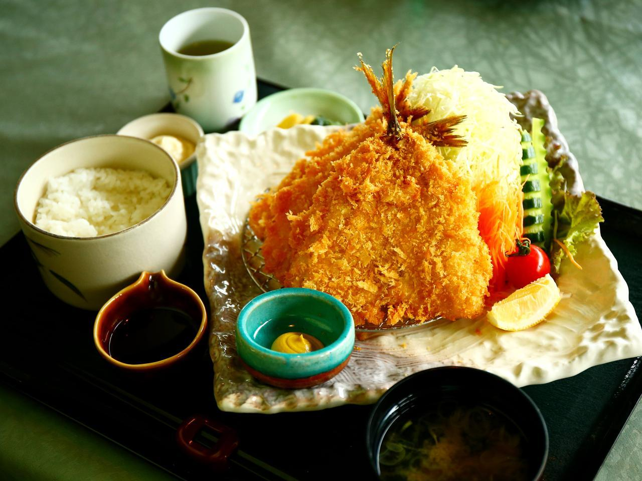 画像: 相模と伊豆の地魚フライ膳1530円