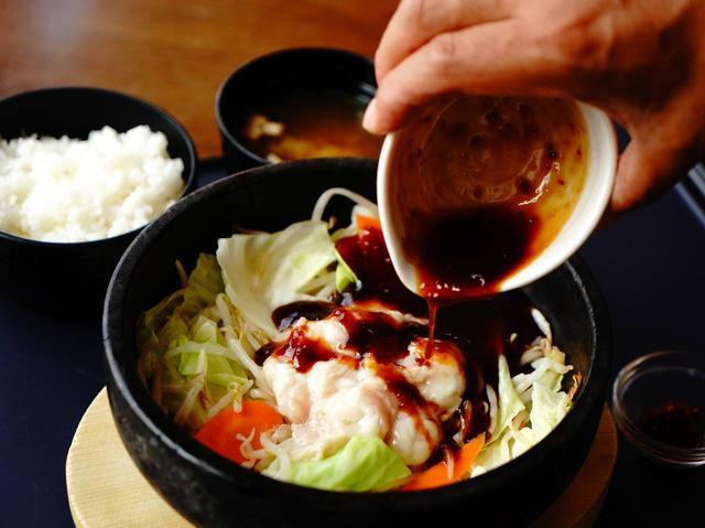画像: 和牛を使った絶品「石鍋ホルモン」