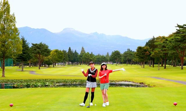 画像: 25那須ゴルフガーデンはコースがフラットで広々。(5番/パー4)