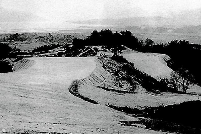 画像: 開場した昭和27年のコース