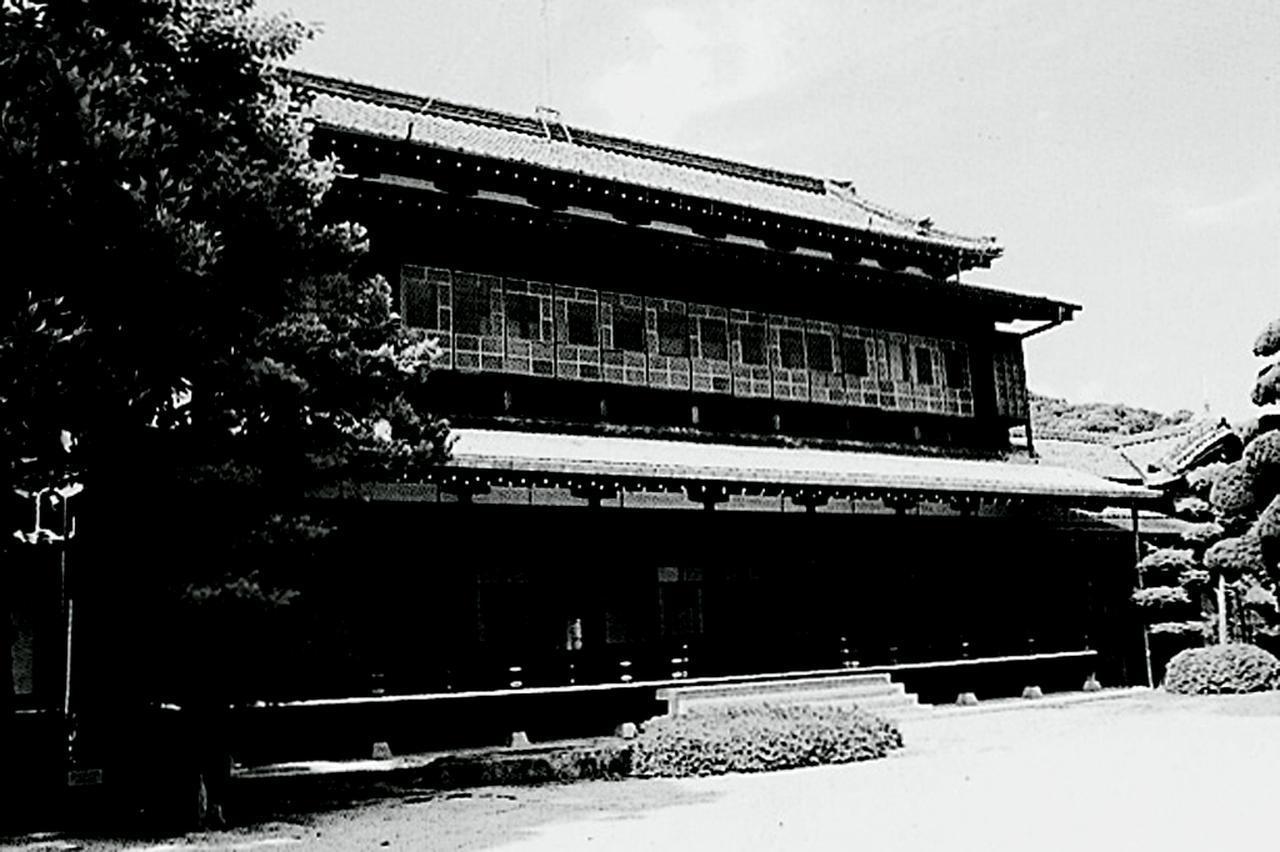 画像: 毛利邸、庭園内の建物
