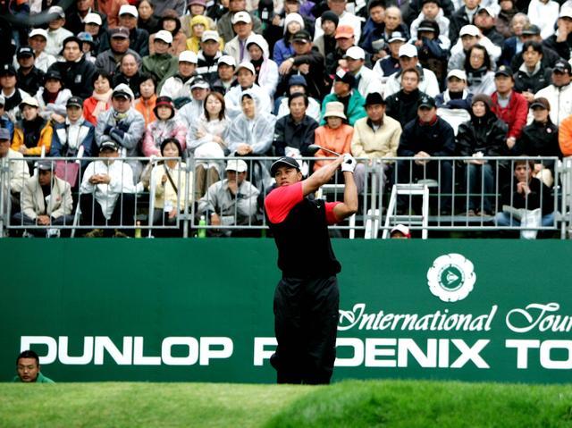 画像19: 【ゴルフ場クイズ】ダンロップフェニックストーナメント。タイガー・ウッズが出場した際、食堂でお替りしたメニューは? 「ハンバーガー」「牛丼」「釜揚げうどん」どれ?